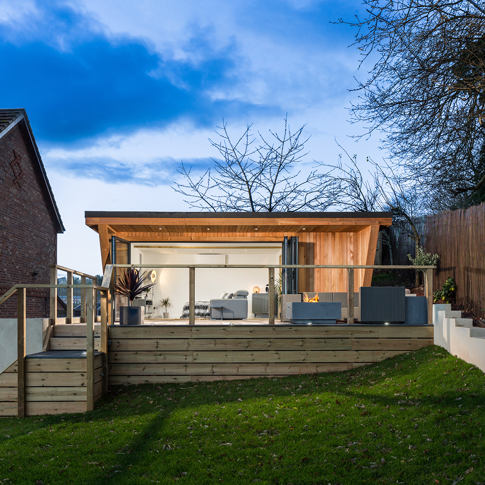 Hydropool Bristol, supplier of self-cleaning hot tubs & swimspas. We also provide garden rooms to help you utilise your garden space.