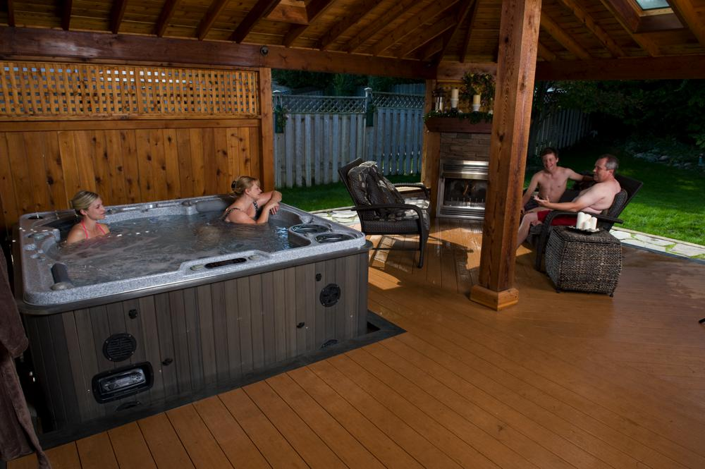 Self-Cleaning Hot Tubs