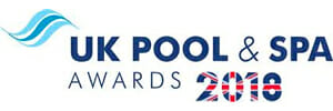UK pool and spa awards logo