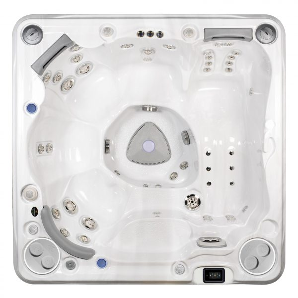 Hydropool self cleaning 570 top view