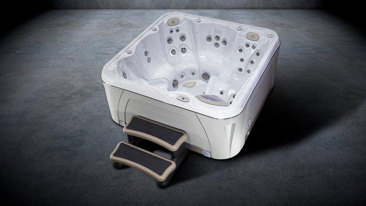 Hydropool Serenity hot tub-5900-Hot-Tub-Dry