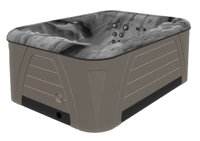 Hydropool Serenity 4300 Harbour Grey Cabinet