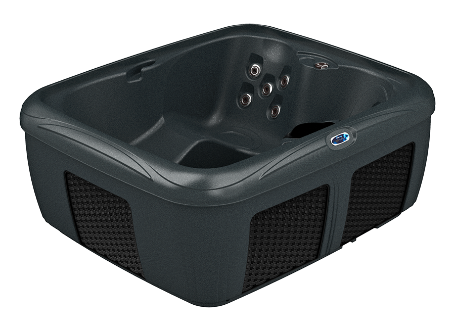 Top View Of DreamMaker Model EZ-L Hot Tub