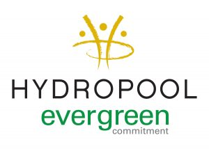 Hydropool Evergreen Commitment Logo